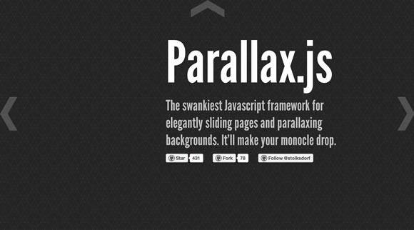 Примеров использования эффекта параллакса